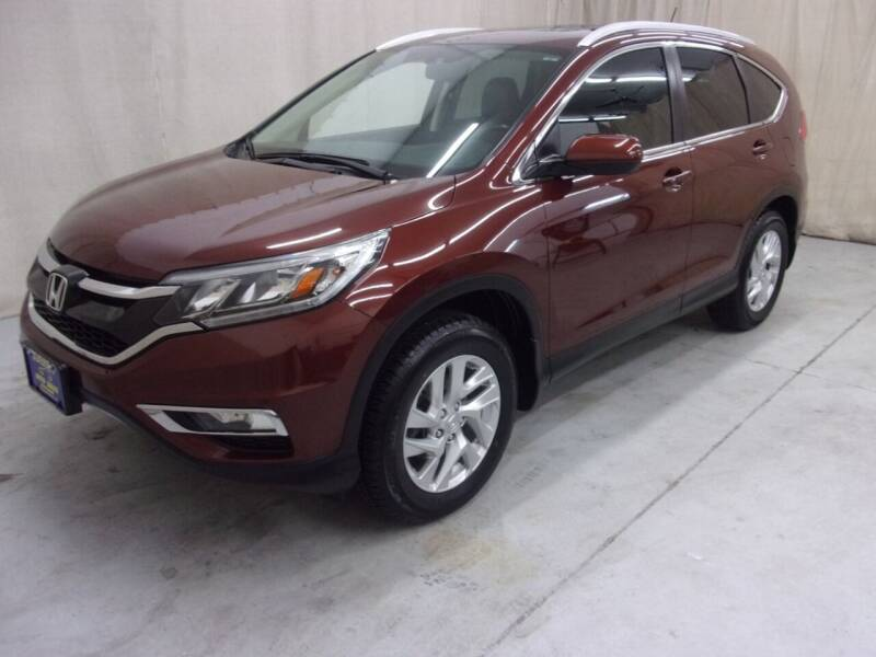2016 Honda CR-V for sale at Paquet Auto Sales in Madison OH