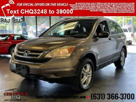 2011 Honda CR-V for sale at CERTIFIED HEADQUARTERS in Saint James NY