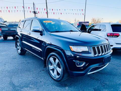 2014 Jeep Grand Cherokee for sale at Lion's Auto INC in Denver CO