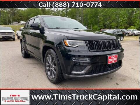 2018 Jeep Grand Cherokee for sale at TTC AUTO OUTLET/TIM'S TRUCK CAPITAL & AUTO SALES INC ANNEX in Epsom NH