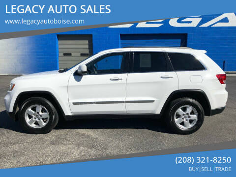 2013 Jeep Grand Cherokee for sale at LEGACY AUTO SALES in Boise ID