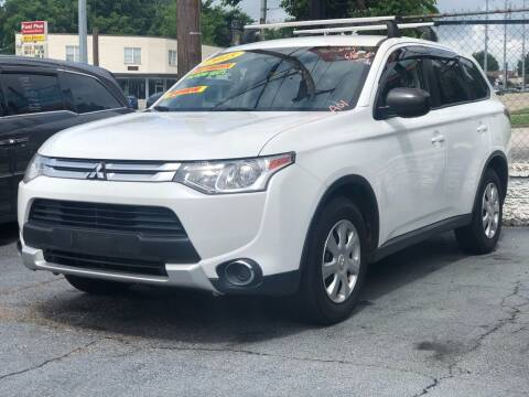 2015 Mitsubishi Outlander for sale at Apex Knox Auto in Knoxville TN