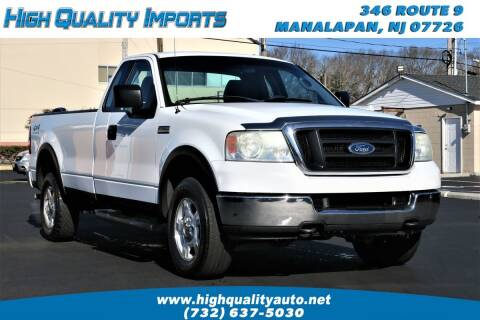 2004 Ford F-150 for sale at High Quality Imports in Manalapan NJ
