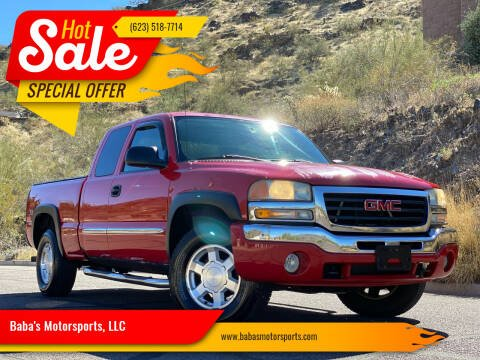 2004 GMC Sierra 1500 for sale at Baba's Motorsports, LLC in Phoenix AZ