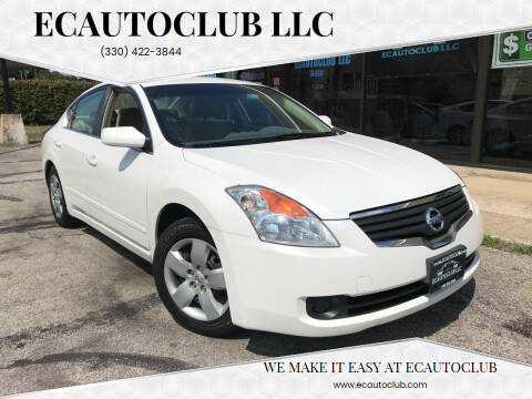 2007 Nissan Altima for sale at ECAUTOCLUB LLC in Kent OH