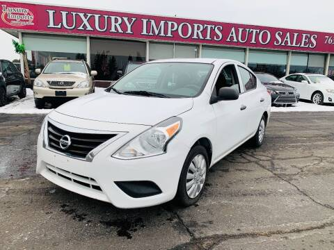 2015 Nissan Versa for sale at LUXURY IMPORTS AUTO SALES INC in North Branch MN