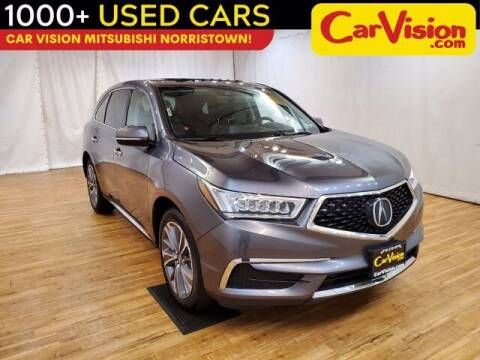 2018 Acura MDX for sale at Car Vision Buying Center in Norristown PA