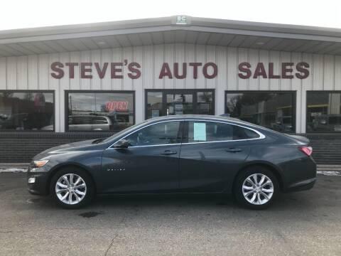 2020 Chevrolet Malibu for sale at STEVE'S AUTO SALES INC in Scottsbluff NE
