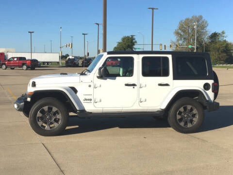 2018 Jeep Wrangler Unlimited for sale at LANDMARK OF TAYLORVILLE in Taylorville IL