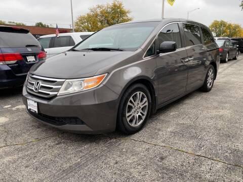 2012 Honda Odyssey for sale at AUTOSAVIN in Elmhurst IL