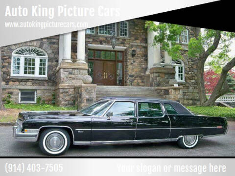 1973 Cadillac Series 75 for sale at Auto King Picture Cars - Rental in Westchester County NY