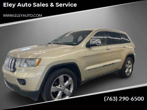 2011 Jeep Grand Cherokee for sale at Eley Auto Sales & Service in Loretto MN