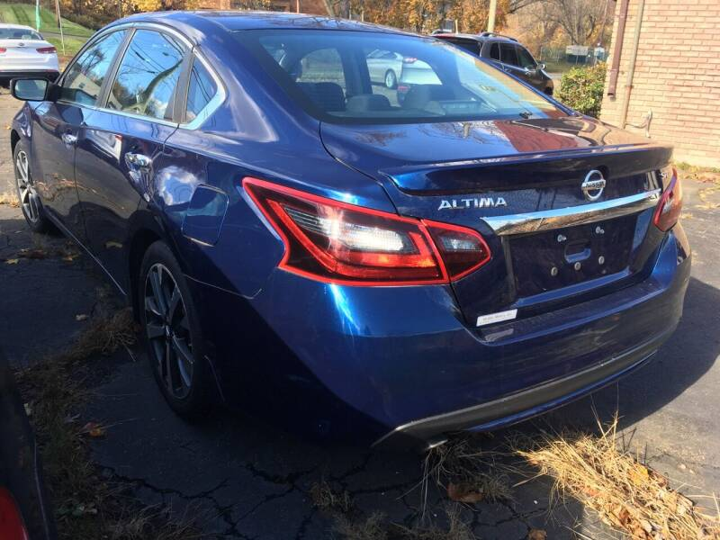 2017 Nissan Altima for sale at MELILLO MOTORS INC in North Haven CT