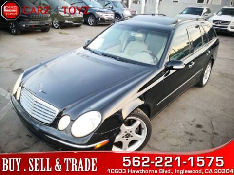 2004 Mercedes-Benz E-Class for sale at Carz 4 Toyz in Inglewood CA