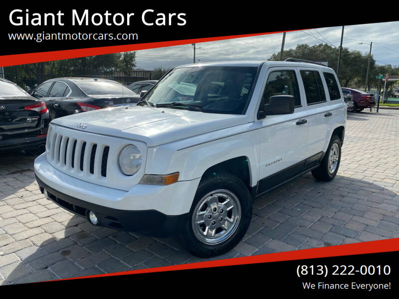 2014 Jeep Patriot for sale at Giant Motor Cars in Tampa FL