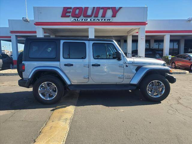 2020 Jeep Wrangler Unlimited for sale at EQUITY AUTO CENTER in Phoenix AZ