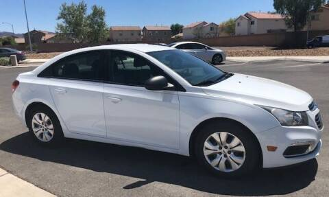 2016 Chevrolet Cruze Limited for sale at GEM Motorcars in Henderson NV
