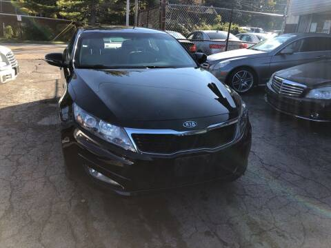 2012 Kia Optima for sale at Six Brothers Auto Sales in Youngstown OH