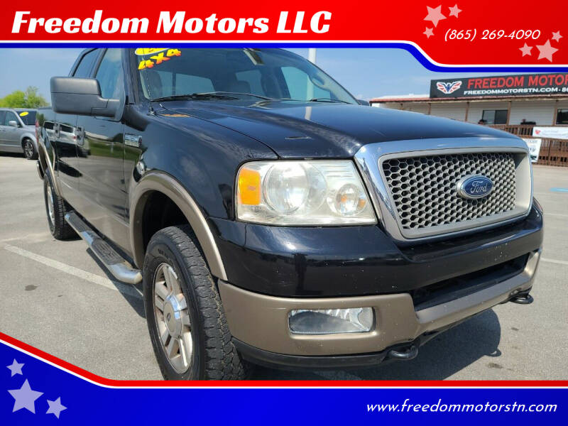 2005 Ford F-150 for sale at Freedom Motors LLC in Knoxville TN