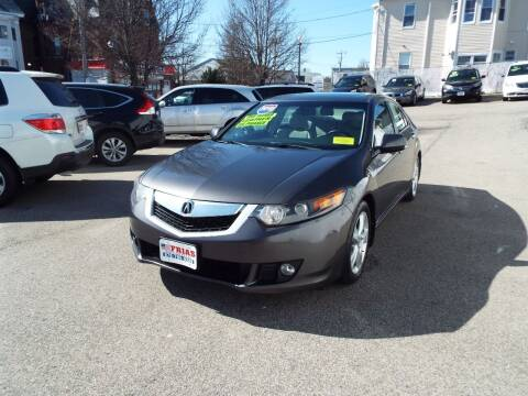 2010 Acura TSX for sale at FRIAS AUTO SALES LLC in Lawrence MA