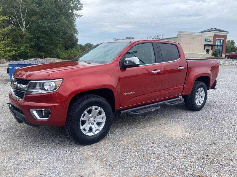 2015 Chevrolet Colorado for sale at McCully's Automotive - Trucks & SUV's in Benton KY