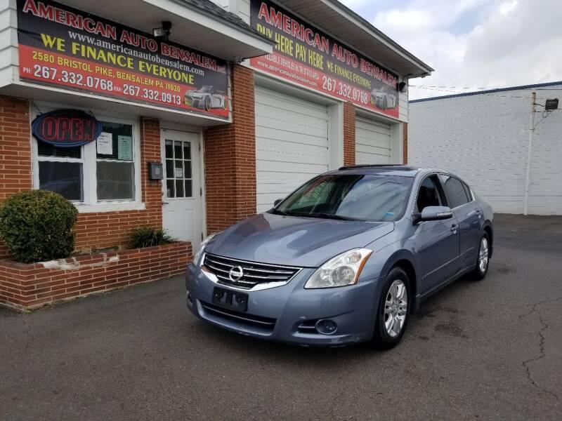 2012 Nissan Altima for sale at American Auto Bensalem Inc in Bensalem PA