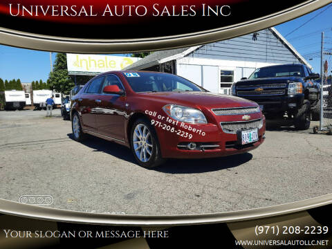 2008 Chevrolet Malibu for sale at Universal Auto Sales Inc in Salem OR