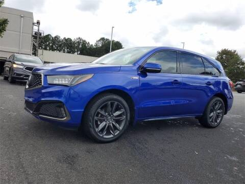 2019 Acura MDX for sale at CU Carfinders in Norcross GA
