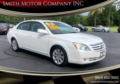 2005 Toyota Avalon for sale at Smith Motor Company INC in Mc Cormick SC