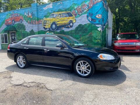 2010 Chevrolet Impala for sale at Showcase Motors in Pittsburgh PA