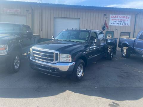 2004 Ford F-350 Super Duty for sale at East Coast Motor Sports in West Warwick RI