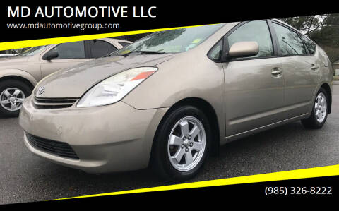 2005 Toyota Prius for sale at MD AUTOMOTIVE LLC in Slidell LA