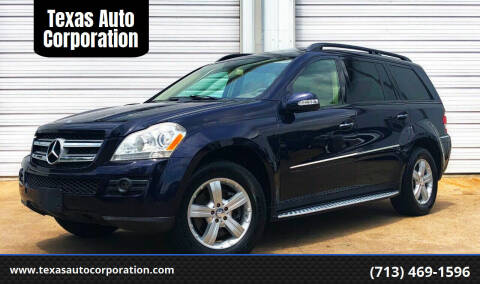 2008 Mercedes-Benz GL-Class for sale at Texas Auto Corporation in Houston TX