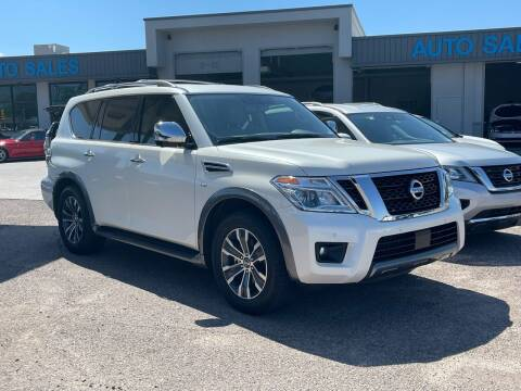 2019 Nissan Armada for sale at TANQUE VERDE MOTORS in Tucson AZ