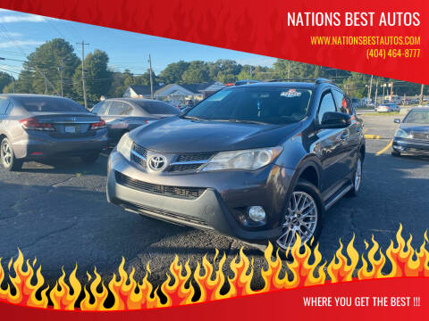 2013 Toyota RAV4 for sale at Nations Best Autos in Decatur GA
