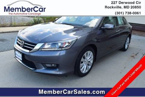2014 Honda Accord for sale at MemberCar in Rockville MD