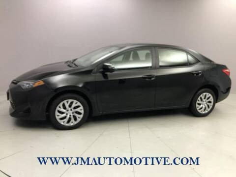 2017 Toyota Corolla for sale at J & M Automotive in Naugatuck CT