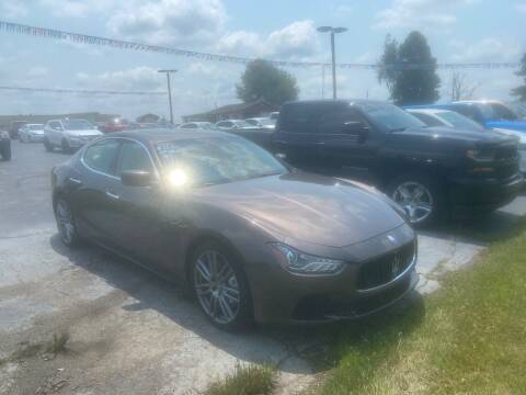 2016 Maserati Ghibli for sale at EAGLE ONE AUTO SALES in Leesburg OH