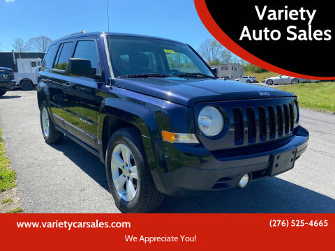 2011 Jeep Patriot for sale at Variety Auto Sales in Abingdon VA