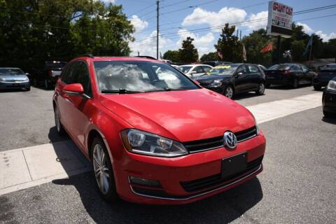 2015 Volkswagen Golf SportWagen for sale at Grant Car Concepts in Orlando FL
