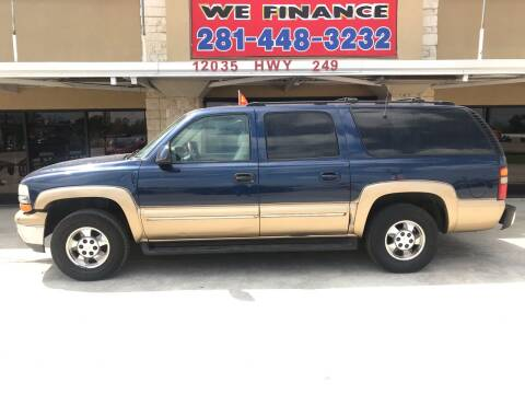 2001 Chevrolet Suburban for sale at FREDYS CARS FOR LESS in Houston TX