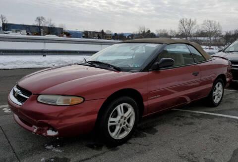1996 Chrysler Sebring for sale at Penn American Motors LLC in Emmaus PA