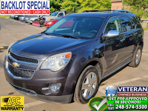 2014 Chevrolet Equinox for sale at North Oakland Motors in Waterford MI