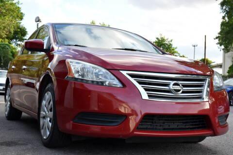 2014 Nissan Sentra for sale at Wheel Deal Auto Sales LLC in Norfolk VA