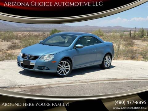 2009 Volkswagen Eos for sale at Arizona Choice Automotive LLC in Mesa AZ