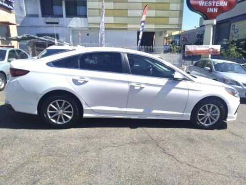 2018 Hyundai Sonata for sale at Western Motors Inc in Los Angeles CA