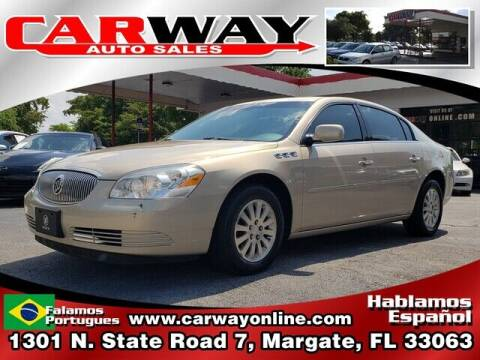 2007 Buick Lucerne for sale at CARWAY Auto Sales in Margate FL