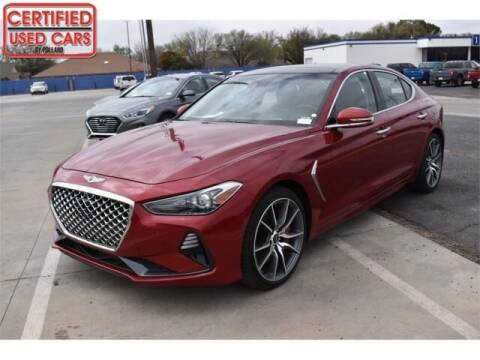 2019 Genesis G70 for sale at South Plains Autoplex by RANDY BUCHANAN in Lubbock TX