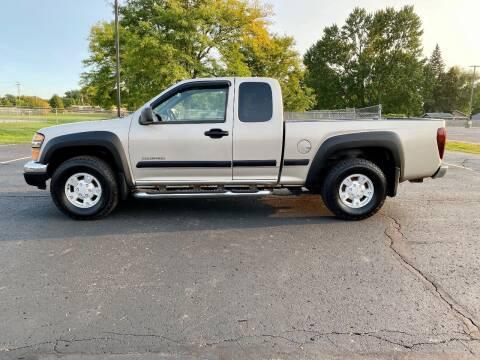 2004 Chevrolet Colorado for sale at Caruzin Motors in Flint MI