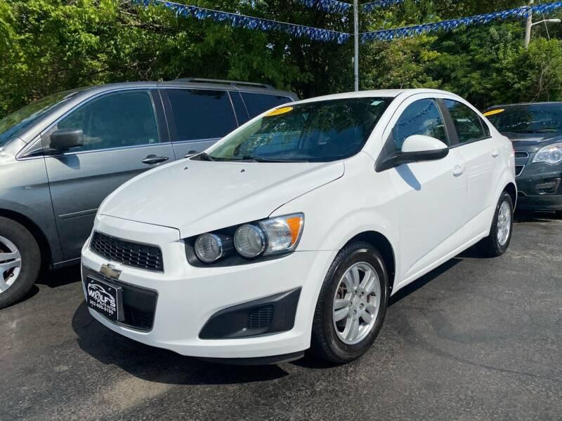 2012 Chevrolet Sonic for sale at WOLF'S ELITE AUTOS in Wilmington DE